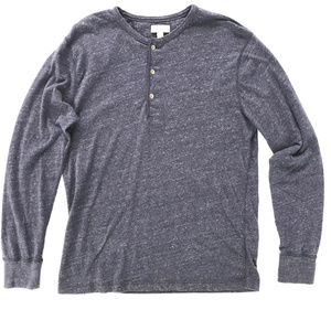 J. CREW Men's Soft Henley Shirt